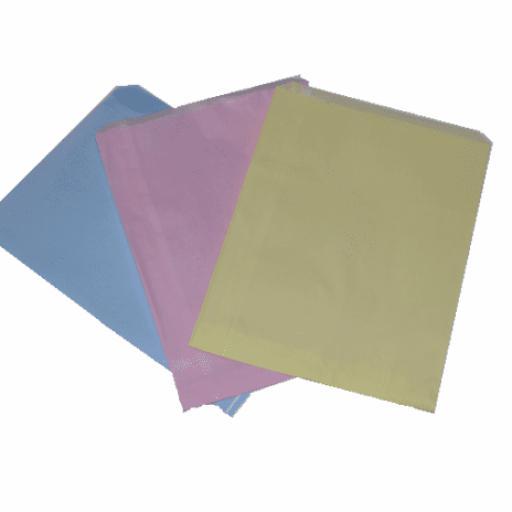 Plain Coloured Paper Bags