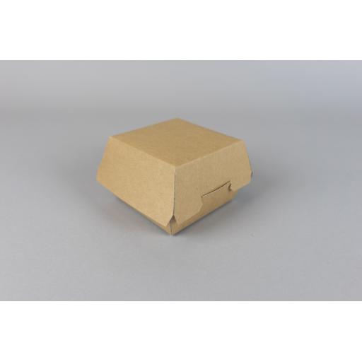 Kraft Clamshell Box - 108/89 x 108/89 x 70 mm