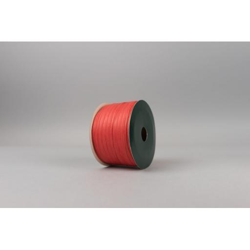 Red Raffia Ribbon 100m