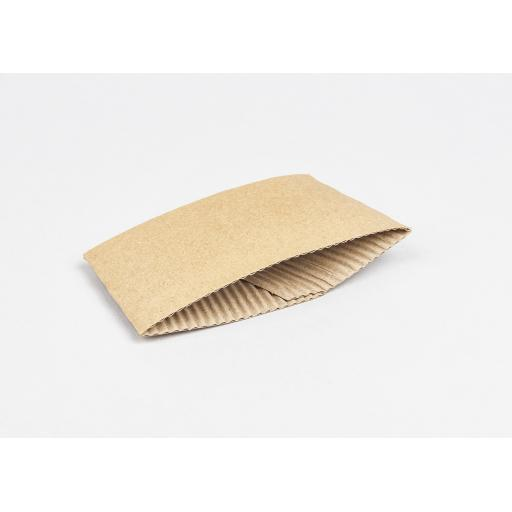 Cardboard sleeve to fit 10 - 20 oz cups