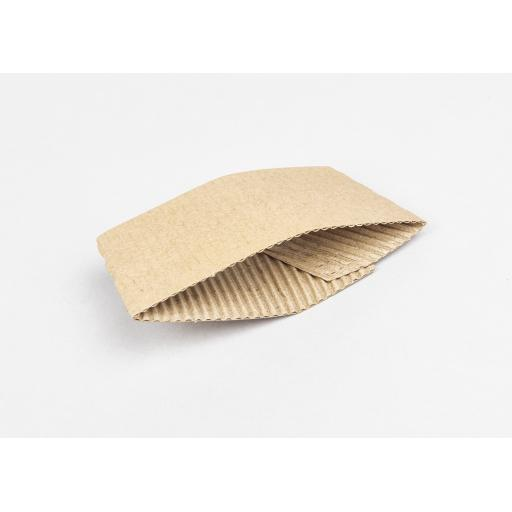 Cardboard sleeve to fit 6 - 8oz cups