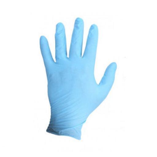 Large Powder Free Vinyl Gloves