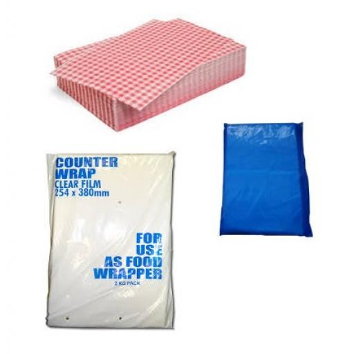 Food Safe Counter Wrapping Sheets
