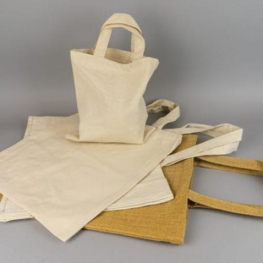 Canvas and Jute Carrier Bags