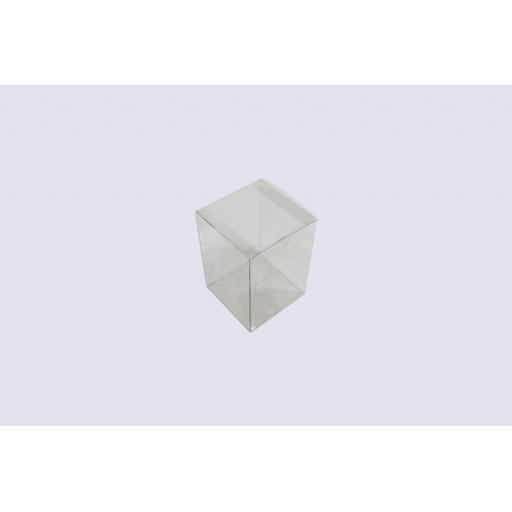 Flat Folding Clear PVC Box 140 x 100 x 100mm