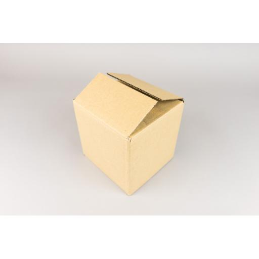 Brown Corrugated Box 127x127x130mm