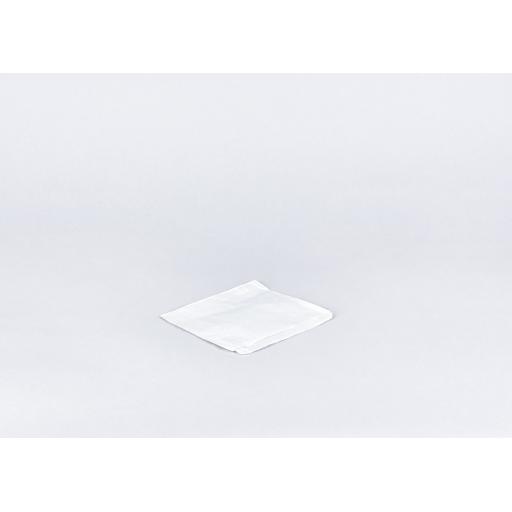 6 inch White Paper Bags