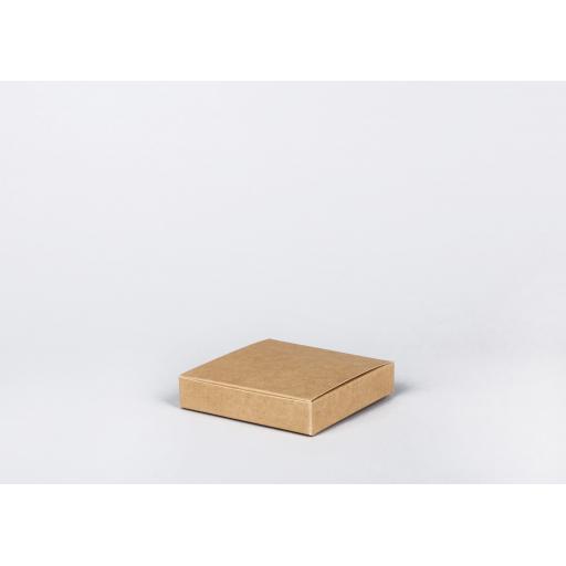 Brown Gift Box 125 x 125 x 25mm