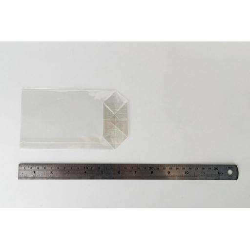 Block Bottom Cellophane Bag 95 x 165mm