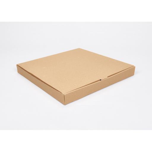 Brown 18 inch Pizza Box