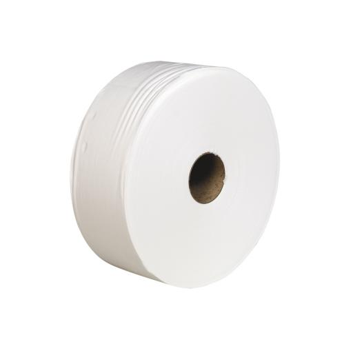Jumbo Toilet Rolls 95 x 300m - Pack of 6 Rolls