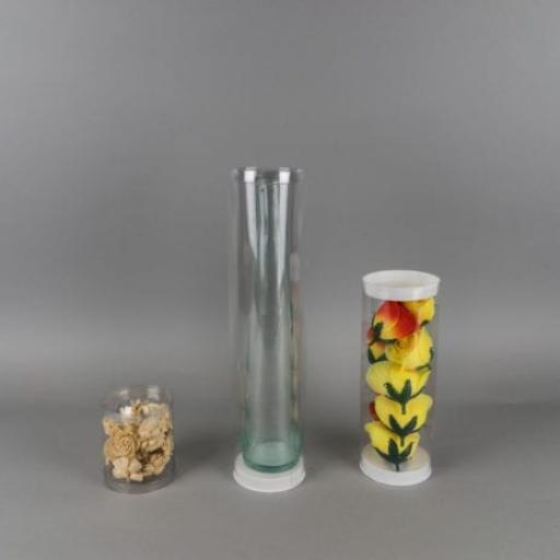 3 inch / 76mm width (diameter) Clear Round Box