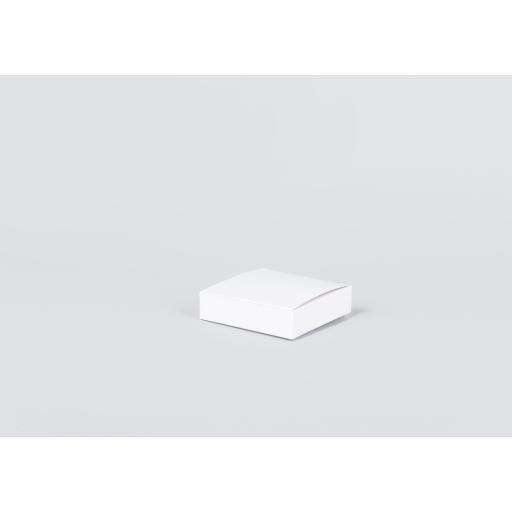 White Gift Box 100 x 100 x 25mm