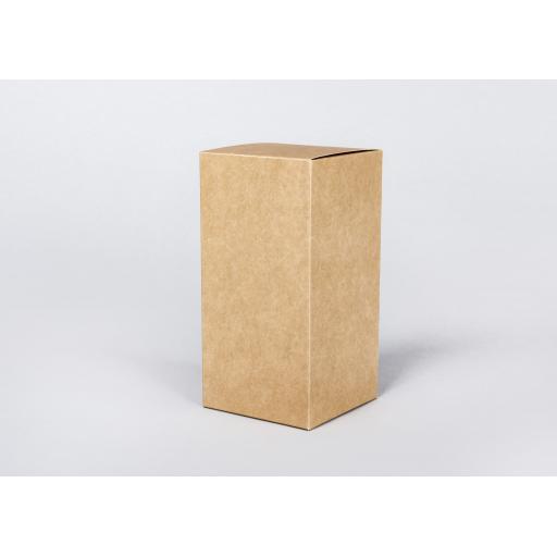 Brown Gift Box 203 x 102 x 102mm