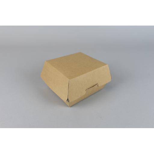Kraft Clamshell Box - 150/135 x 125/105 x 75mm