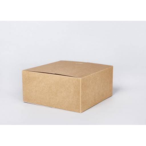 Brown Gift Box 216 x 216 x 102mm