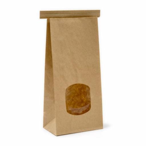 Paper Tin-Tie Window Bags