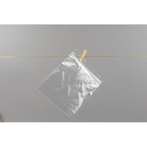 Resealable bags 140 x 140mm