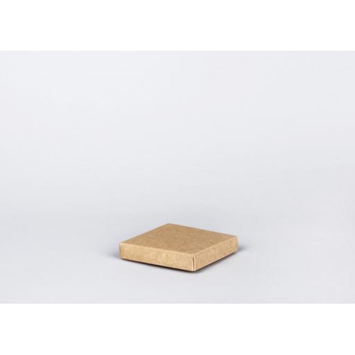 Kraft folding base and lid 102x102x19mm