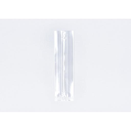 Clear Cellophane Gusseted Bags 76 x 125 x 254mm
