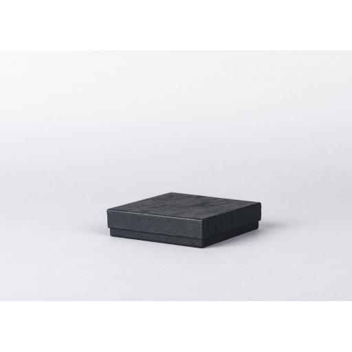 Black Jewellery Box 95x95x22mm