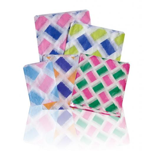 Pattern Design Coloured Paper Bags