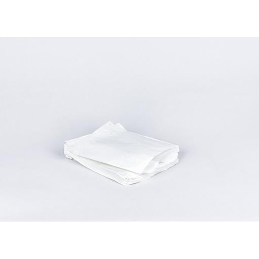 7 x 9 inch White Paper Bags