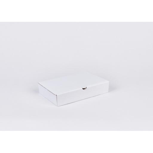 White Corrugated Box 235x150x48mm