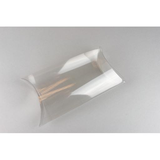 Clear PVC Pillow Box 173x118x50mm
