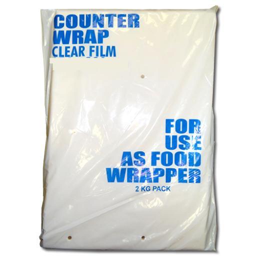 Clear Polypropylene Sheets 215x254mm