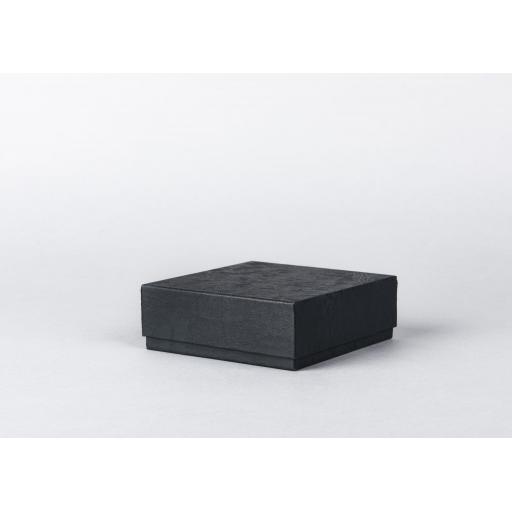 Black Jewellery Box 108x108x38mm