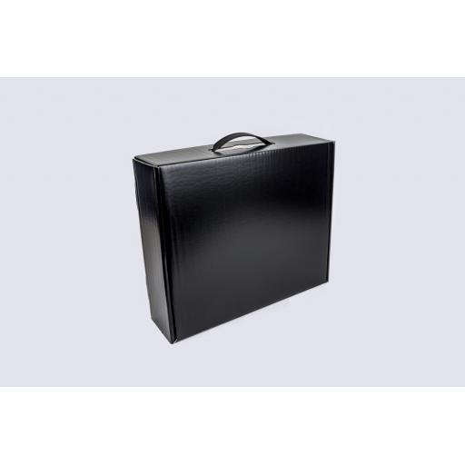 Garment Box Black 355 x 296 x 95mm