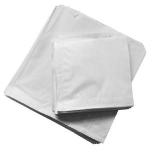 White Paper Bags - Strung