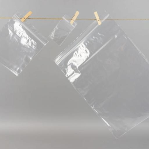Clear, Resealable, Grip Seal Bags