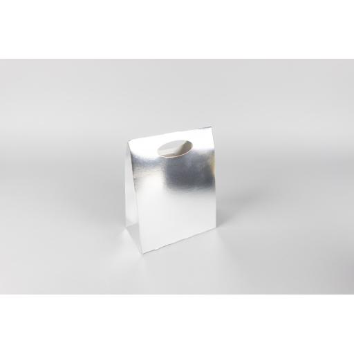 Silver Carry Box 190 x 150 x 80mm