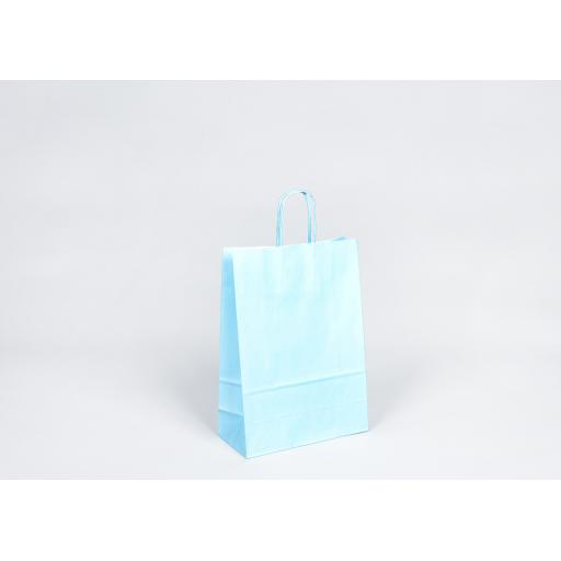 Turquoise Carrier + Twisted Handle 220x100x310mm