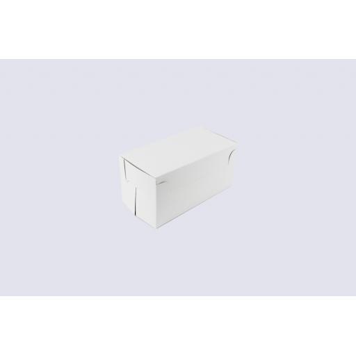"""Cake Box Hinged Lid 152 x 76 x 76mm (6 x 3 x 3"""")"""