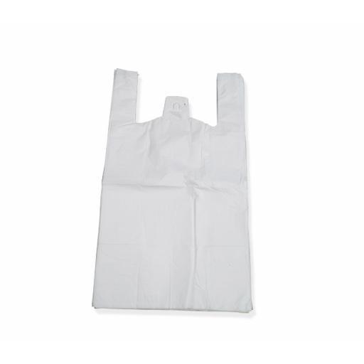 White Vest Carrier 250x300+100mm