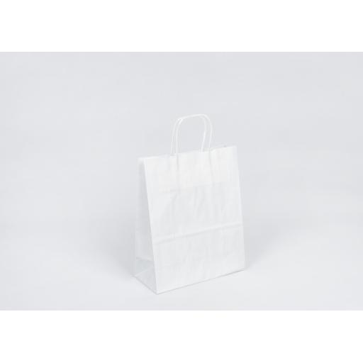 White Carrier + Twisted Handle 240x310+110mm