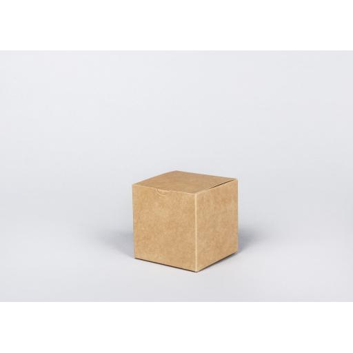 Brown Gift Box 94 x 94 x 94mm