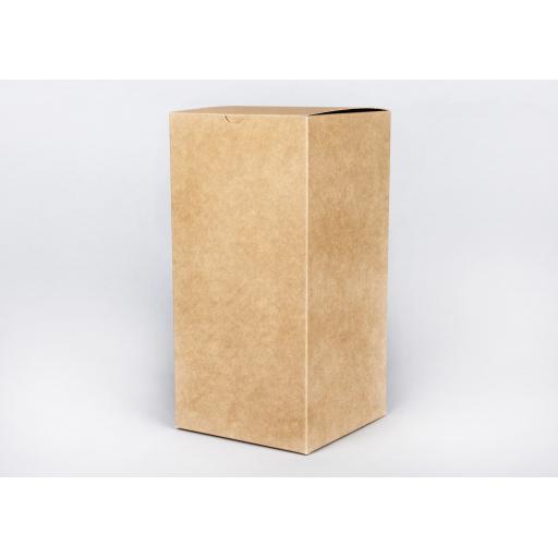Brown Gift Box 254 x 127 x 127mm