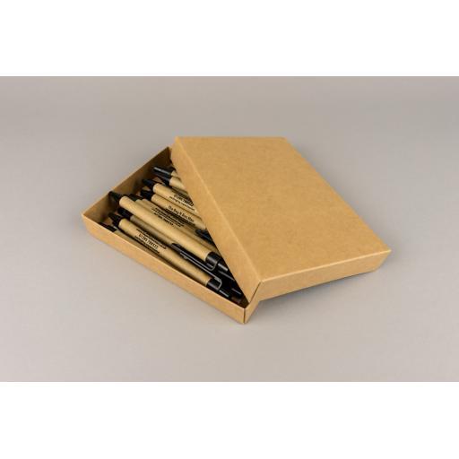 A6 Kraft Box & Lid 164x116x23mm