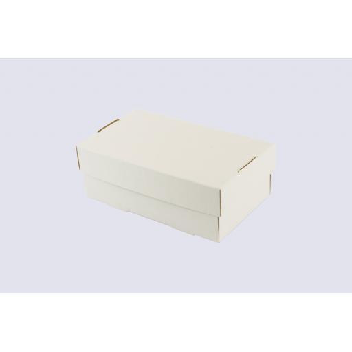 White Shoe Box 175 x 102 x 63mm