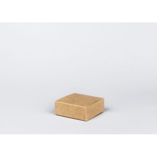 Brown Gift Box 102 x 102 x 38mm