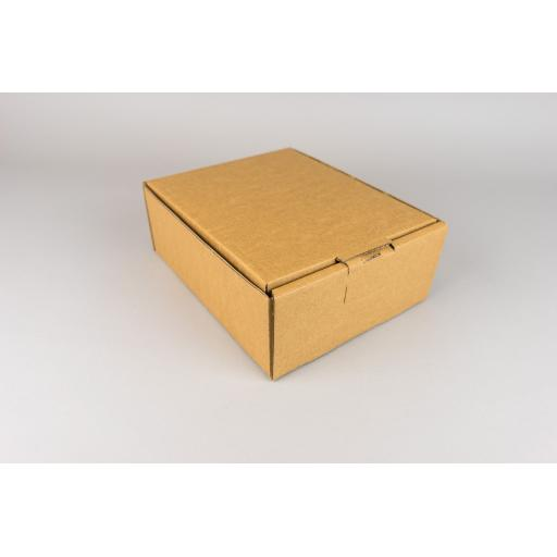 Brown Corrugated Box 210x175x78mm