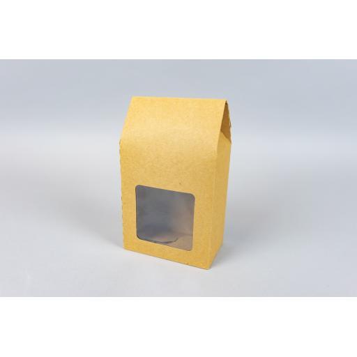 Kraft Box with Window 113x68x138mm