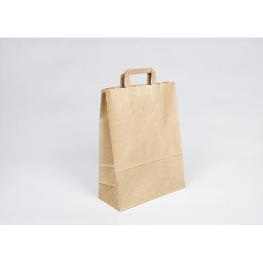 Brown Paper Carrier 320x420+140mm