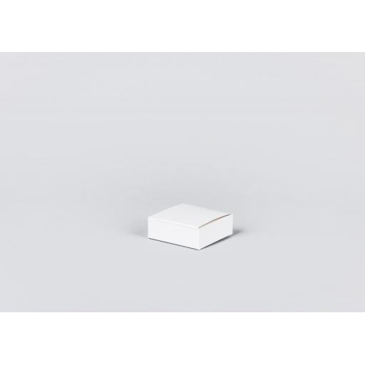 White Gift Box 75 x 75 x 25mm
