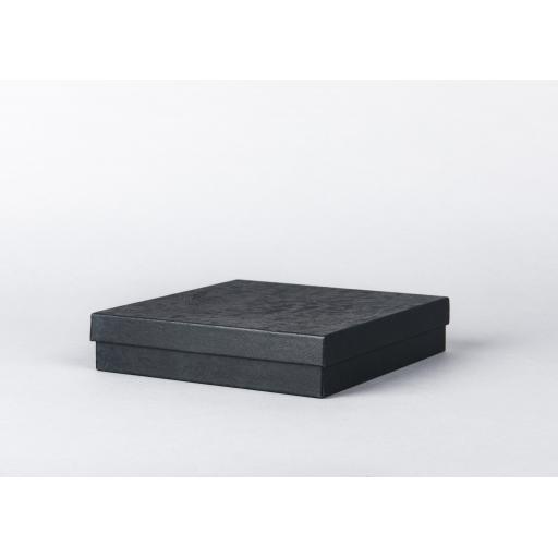 Black Jewellery Box 183x183x39mm