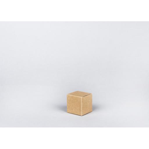 Brown Gift Box 52 x 52 x 52mm